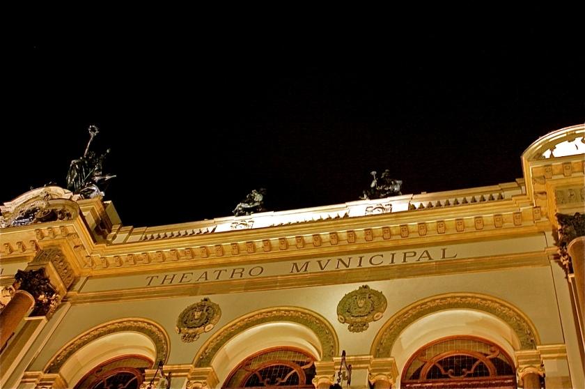 Teatro Municipal de São Paulo, por Edison Veiga