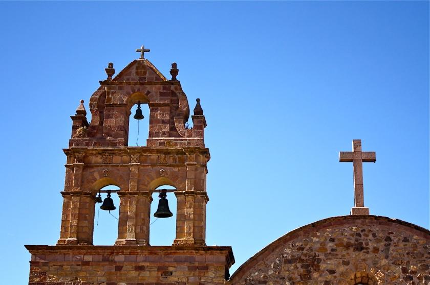 Igreja de Laja, por Edison Veiga