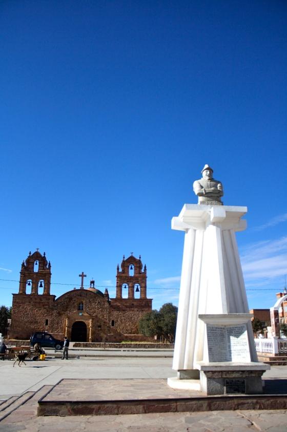Praça de Laja, por Edison Veiga