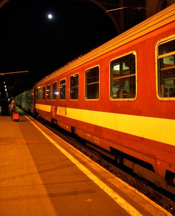 Olha o trem!, por Edison Veiga